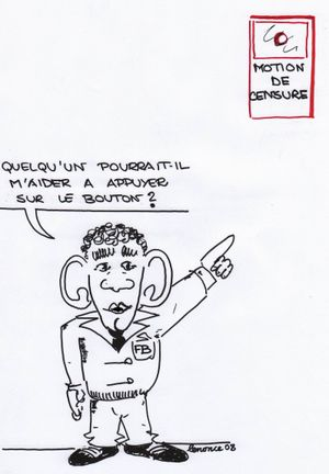 Bayrou motion de censure
