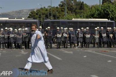 émeutes athènes