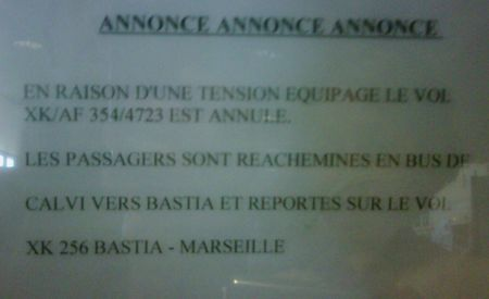 Tension equipage