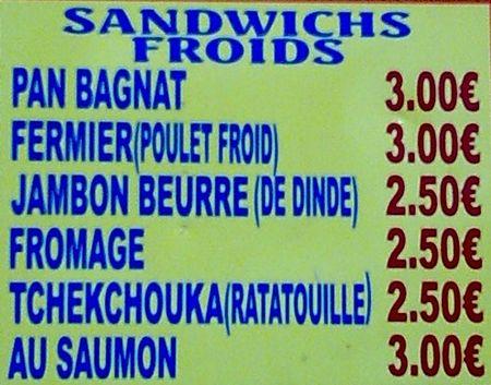Jambon beurre