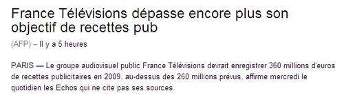 France télé AFP