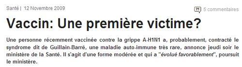 Grippe AH1N1